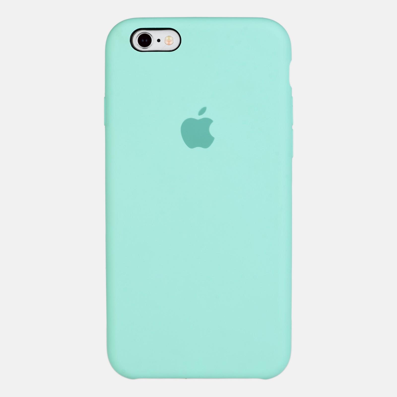 Бирюзовый чехол Silicone Case для iPhone 6/6S