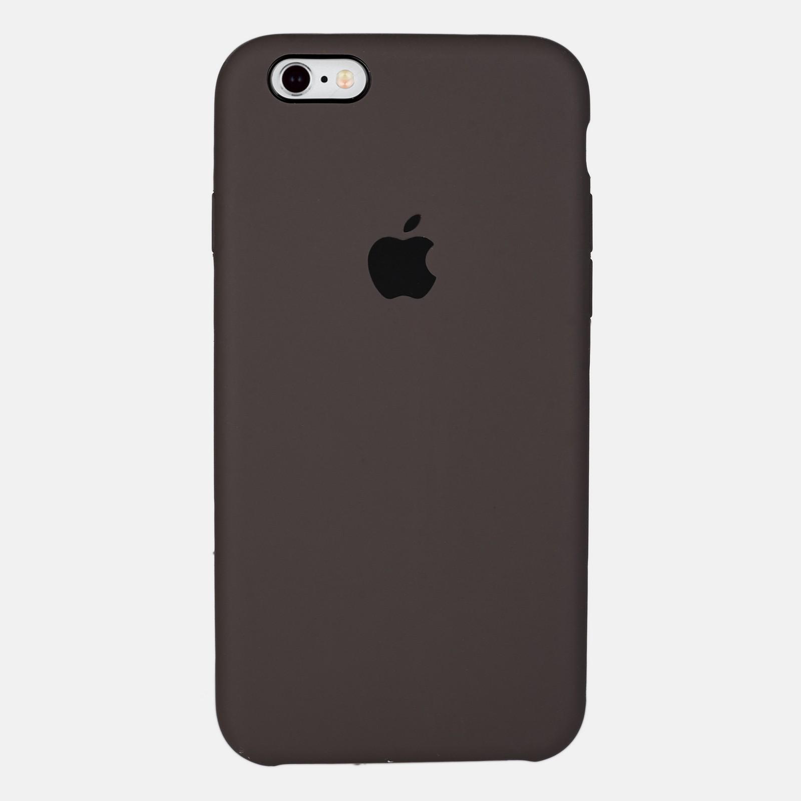 Серый чехол Silicone Case для iPhone 6/6S