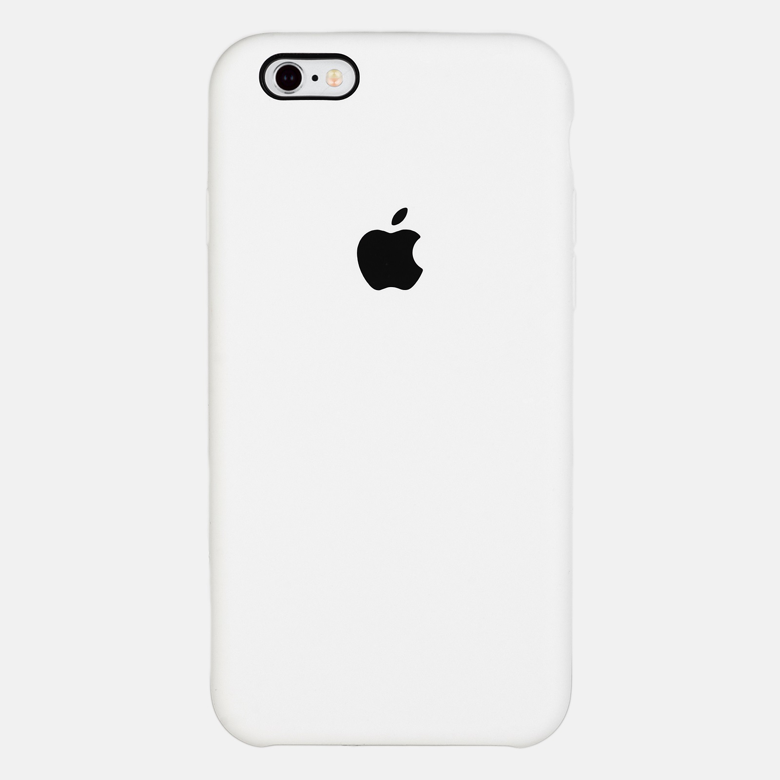 Белый чехол Silicone Case для iPhone 6/6S