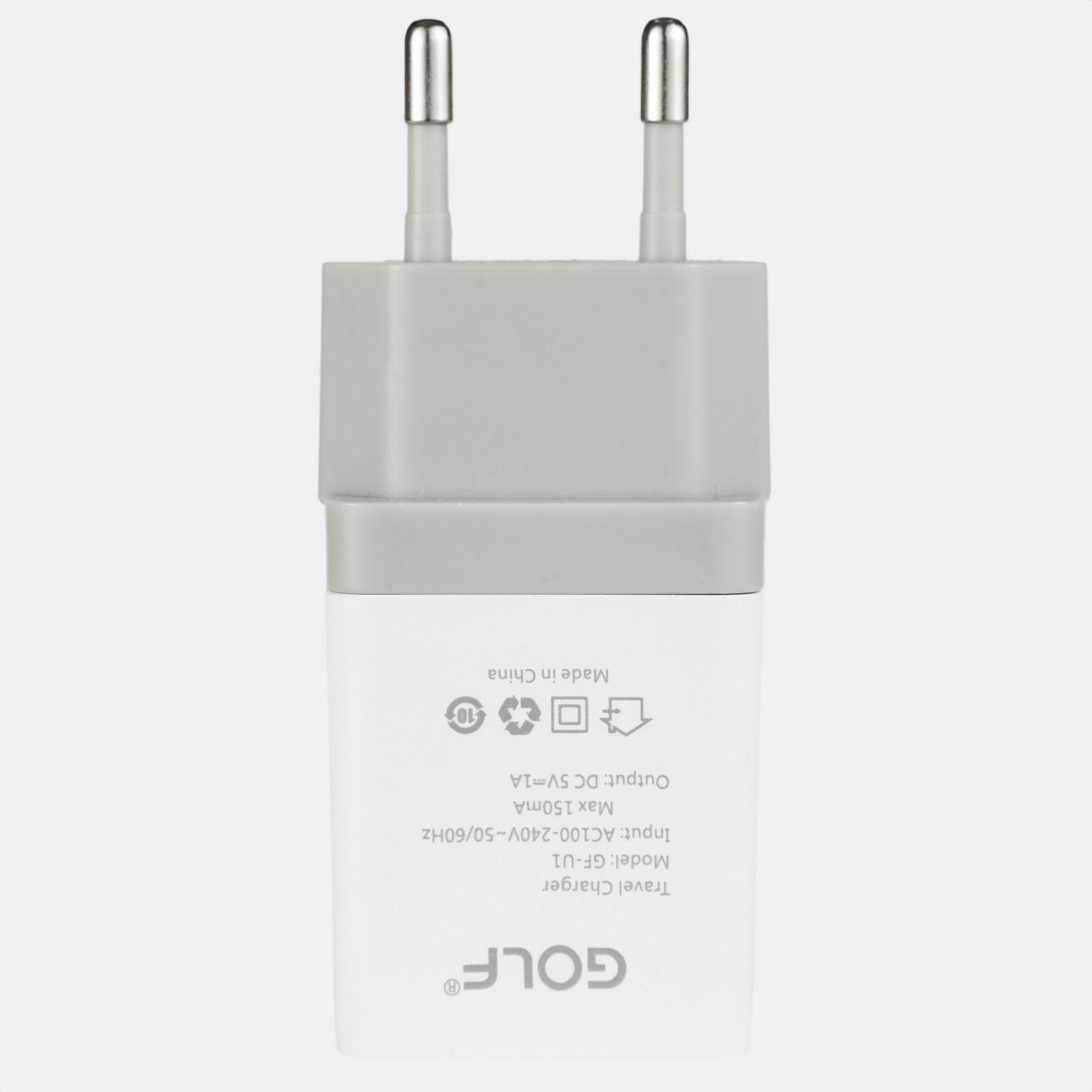 Сетевое зарядное устройство Golf GF-U1