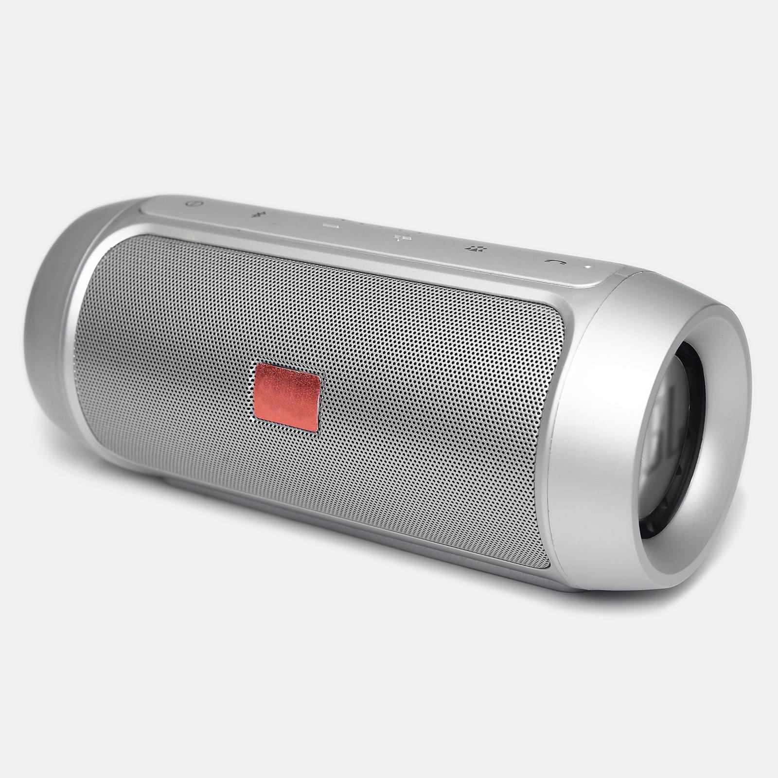 Портативная колонка JBL Charge 2+ Silver High Copy