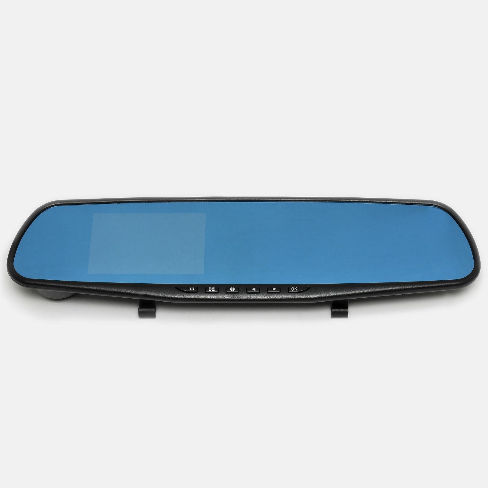 Видеорегистратор зеркало заднего вида Vehicle BlackBox Full HD 1080P, 1 камера