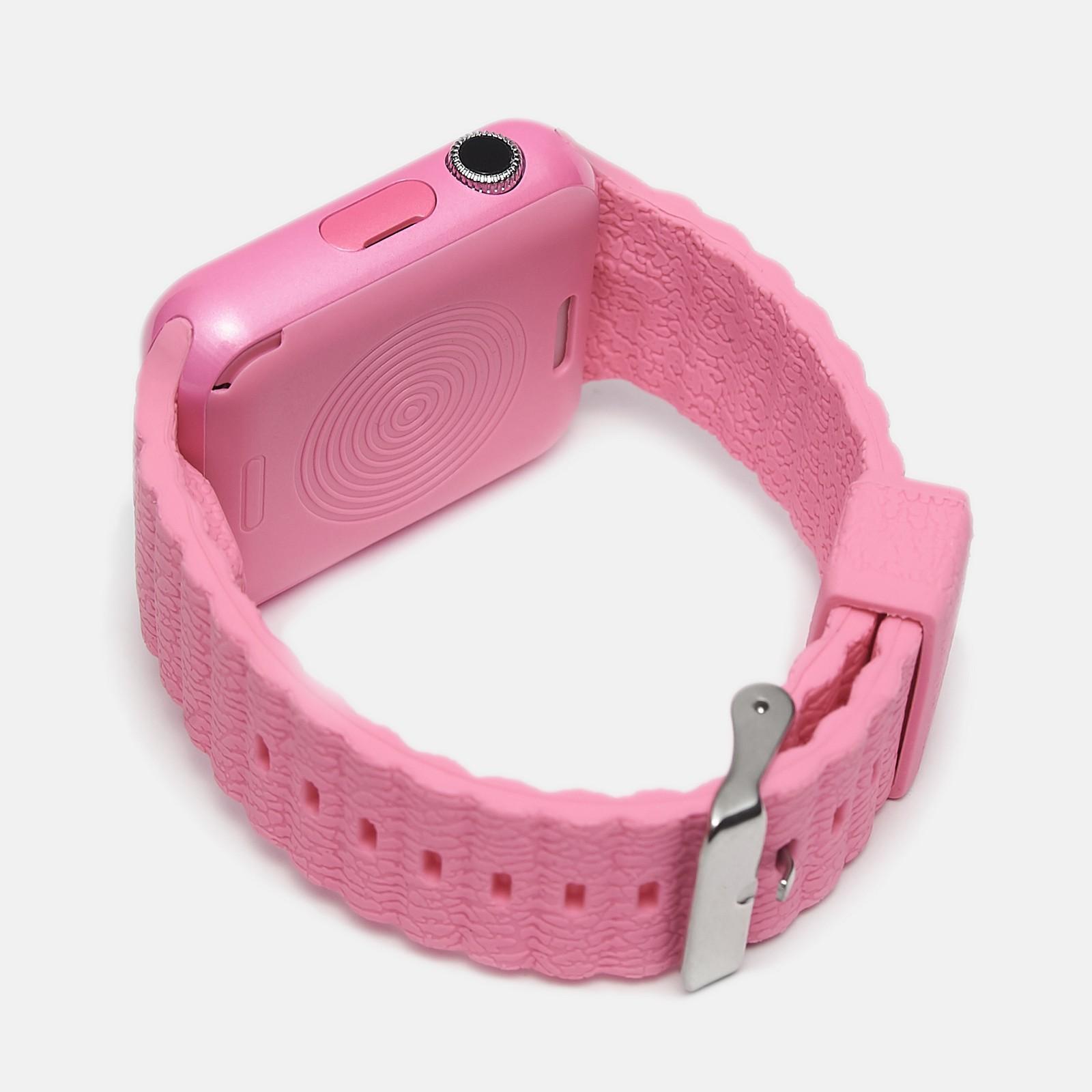 Детские умные часы UWatch V7K с GPS Pink