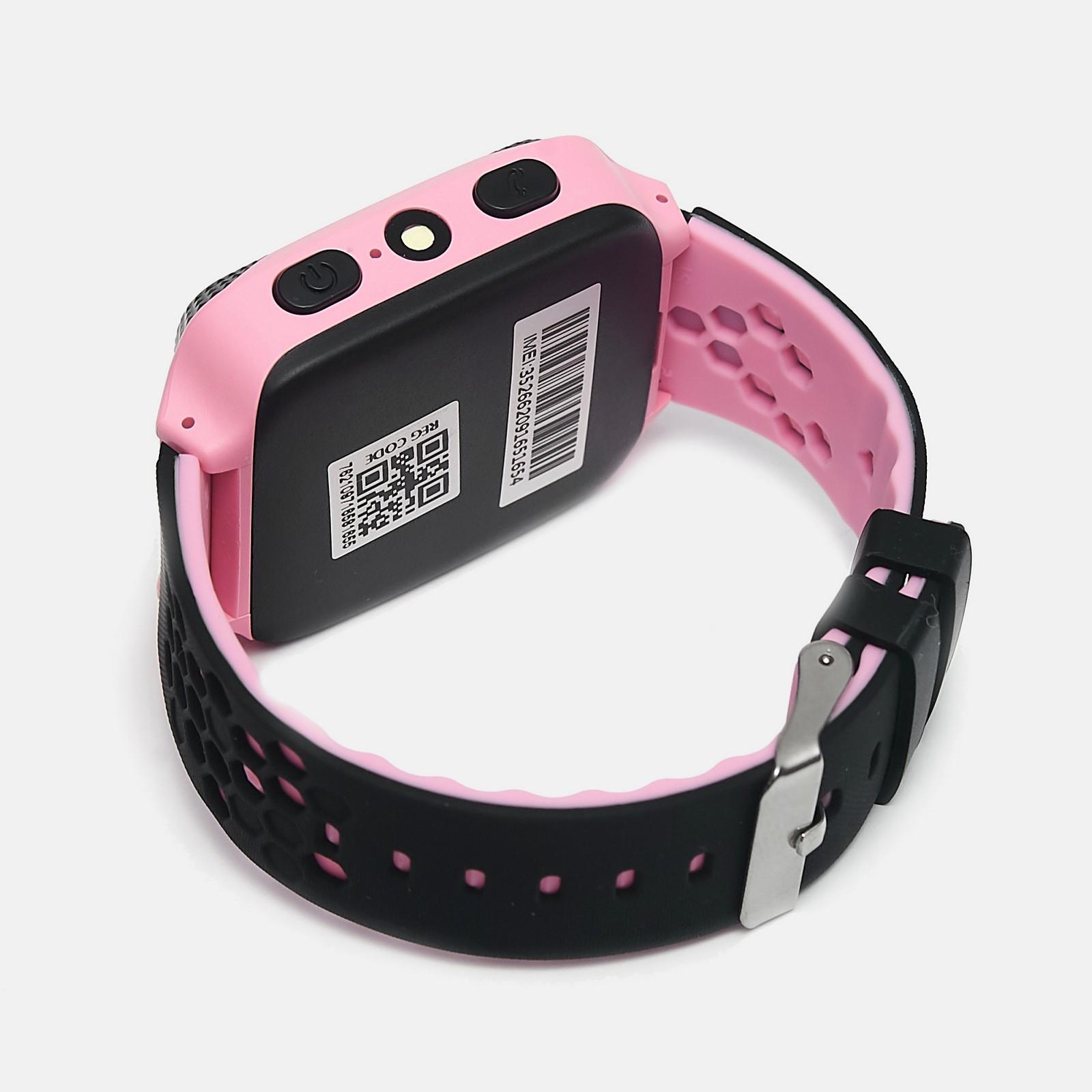 Детские умные GPS часы UWatch Q529 Pink