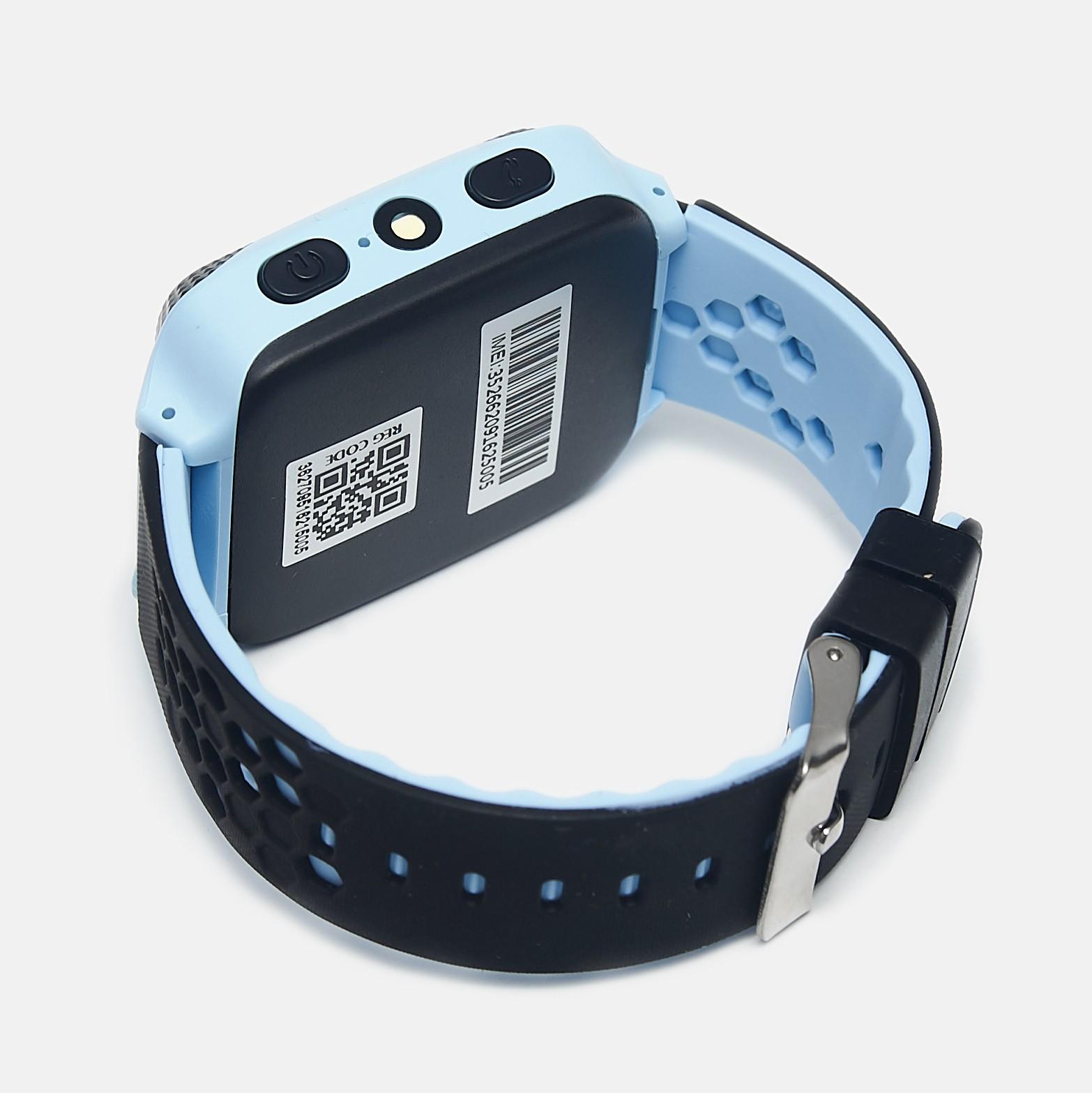 Детские умные GPS часы UWatch Q529 Blue
