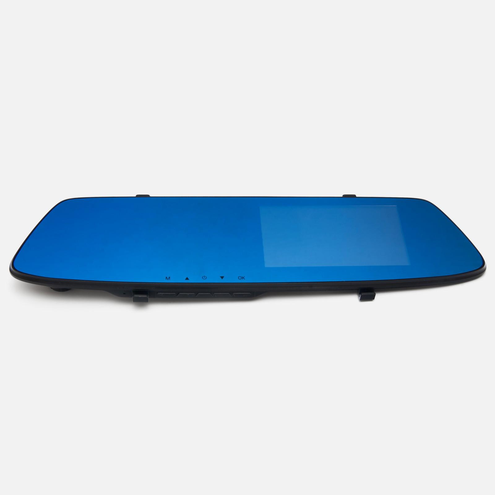 Видеорегистратор зеркало заднего вида Vehicle BlackBox Full HD, 2 камеры, версия 2.0