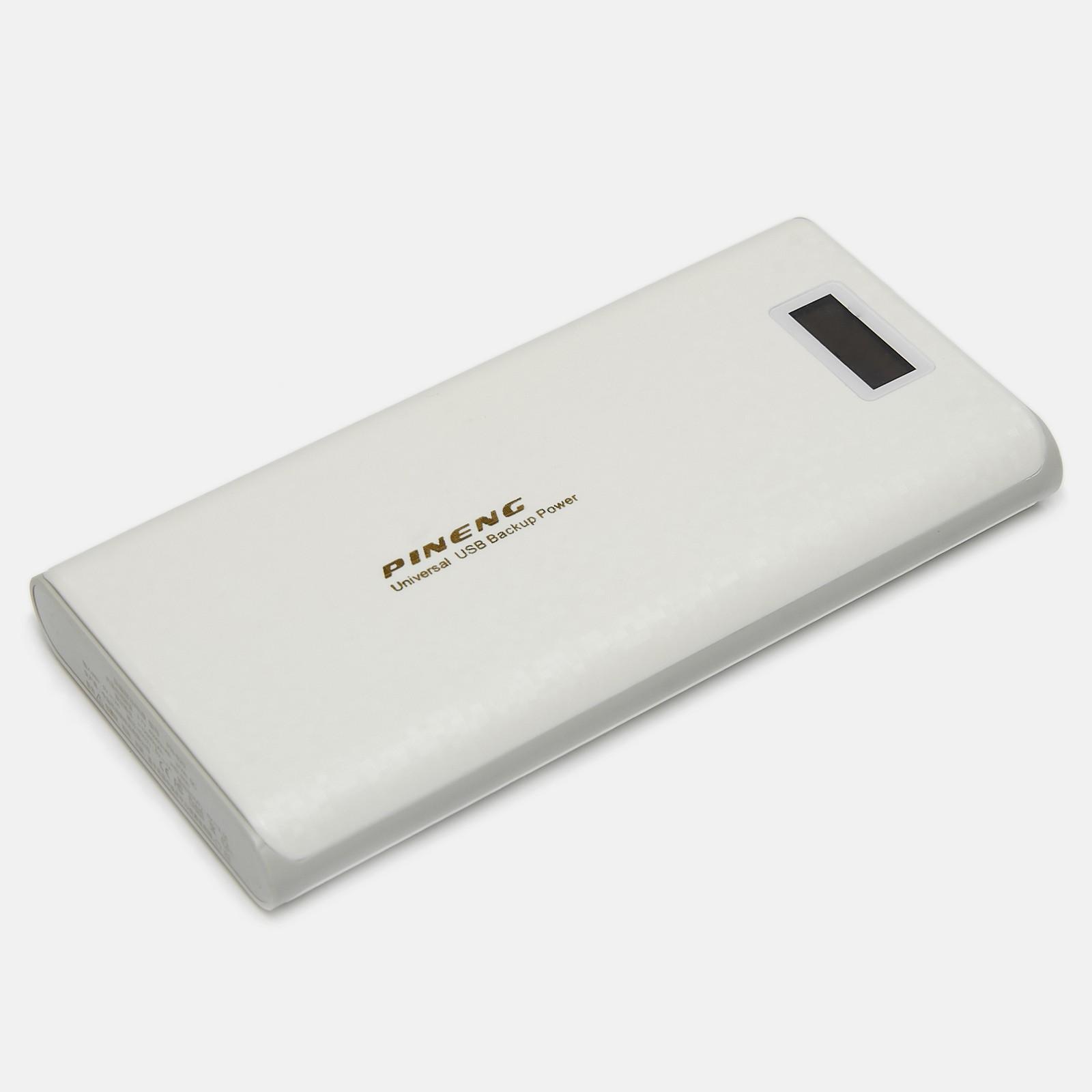 Внешний аккумулятор Pineng PN-920 40000 (9000) мАч White