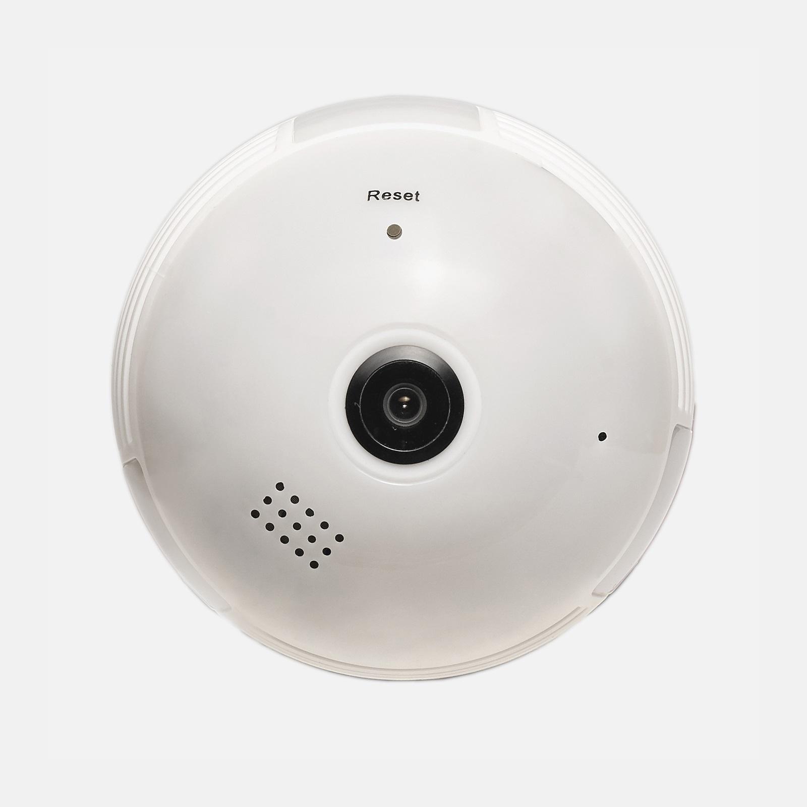 Лампочка со скрытой WI-FI камерой 960P