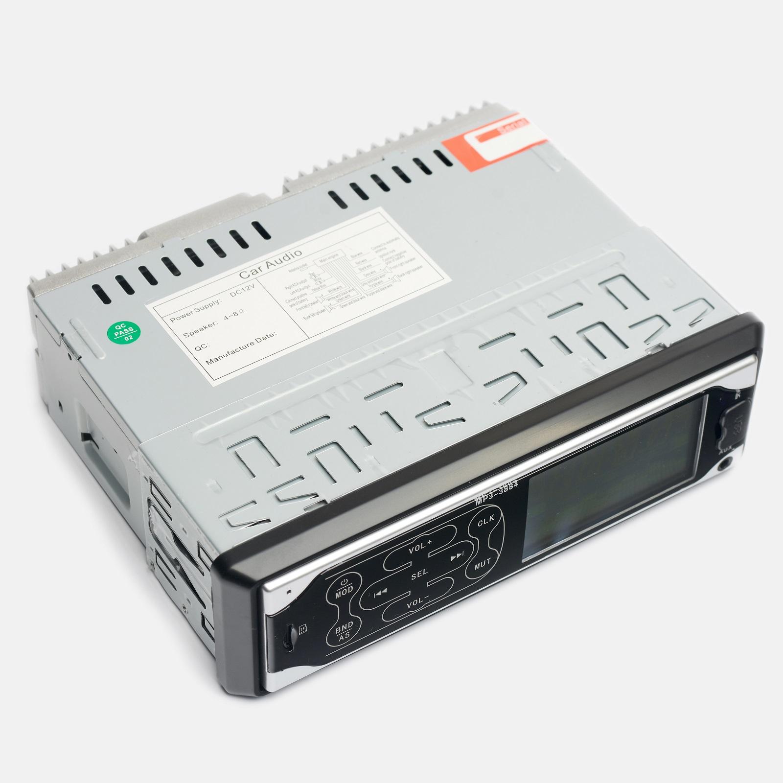 Магнитола UKC MP3 3882 ISO 1DIN c сенсорным дисплеем