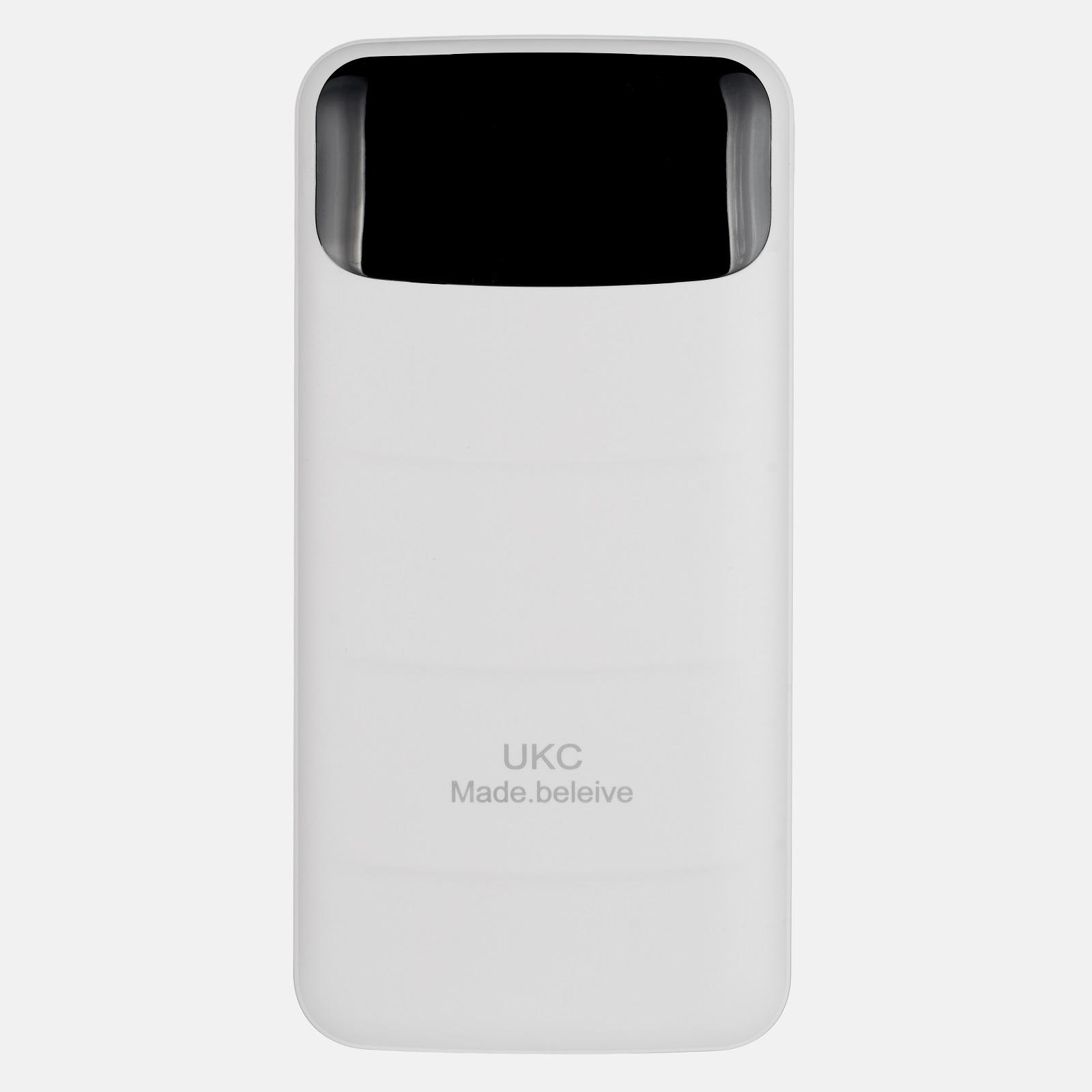 Внешний аккумулятор UKC LCD 80000 мАч White