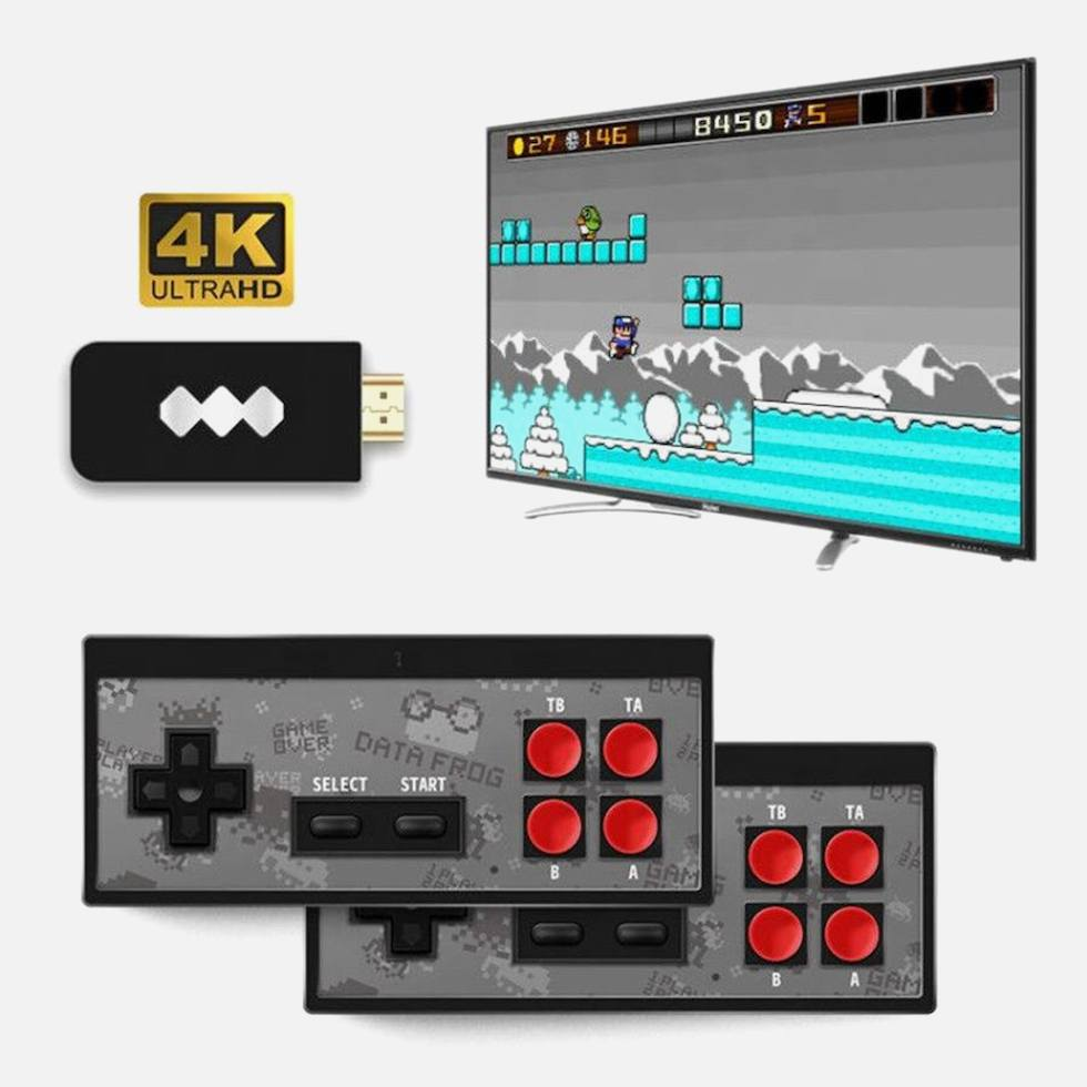 Игровая приставка Dendy HDMI c беспроводными джойстиками