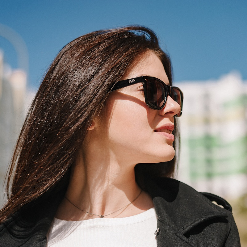 Брендовые cолнцезащитные очки RB001 с поляризацией