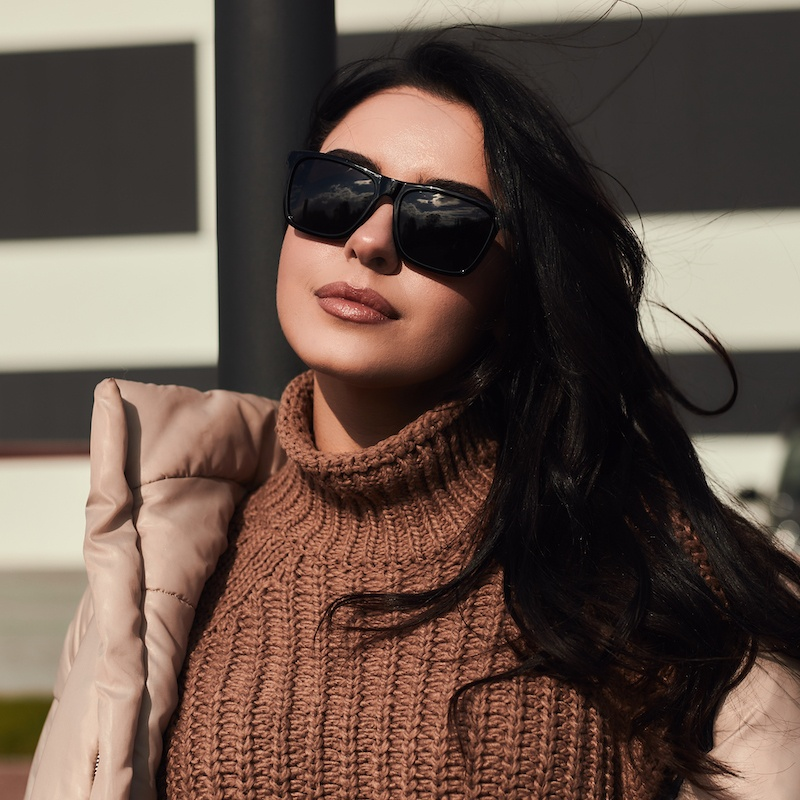 Брендовые cолнцезащитные очки GH001 с поляризацией