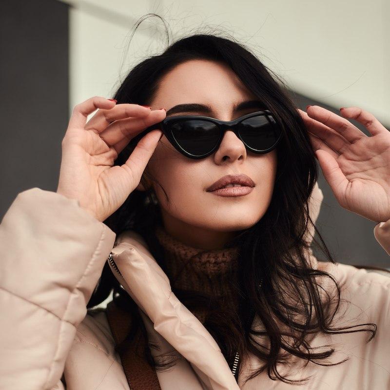 Брендовые женские cолнцезащитные очки Сardeo CR002 с поляризацией