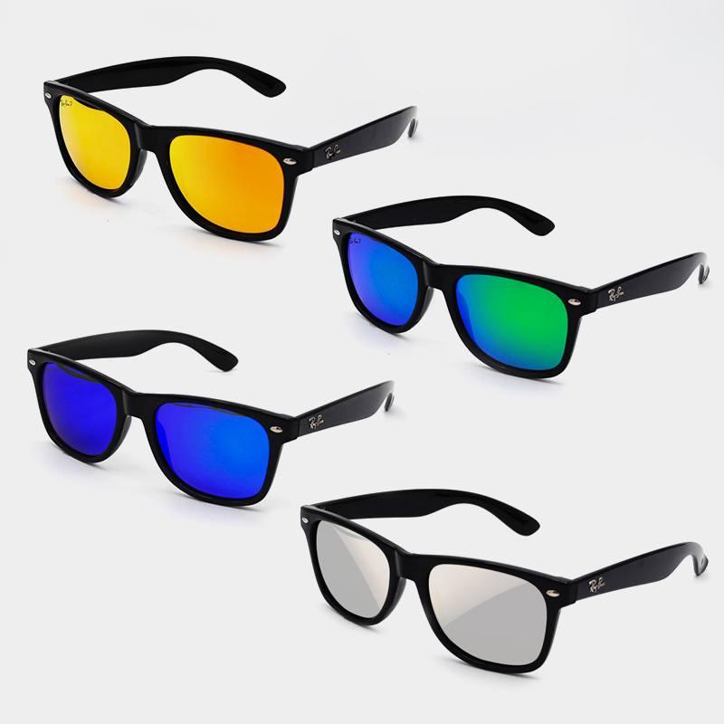 Брендовые cолнцезащитные очки RB055 с поляризацией