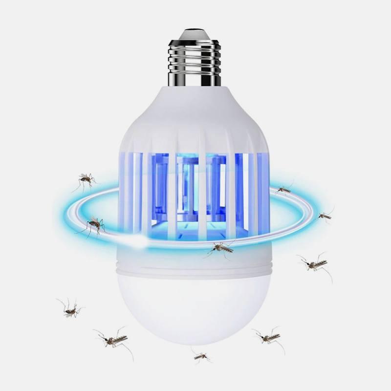 Лампа против комаров+Электрическая мухобойка+Браслет от комаров+Ловушка для комаров